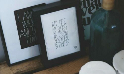 Typography Decor